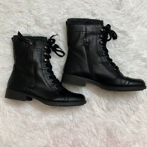 Limelight Black Boots (Size 11)